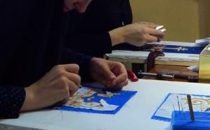 Сёстры Балашовского Покровского монастыря за благоукрашением